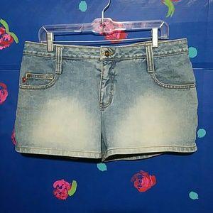 Zana Di Jeans Vintage Faded Shorts 13